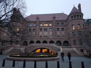 The American Museum of Natural History in Upper Manhattan