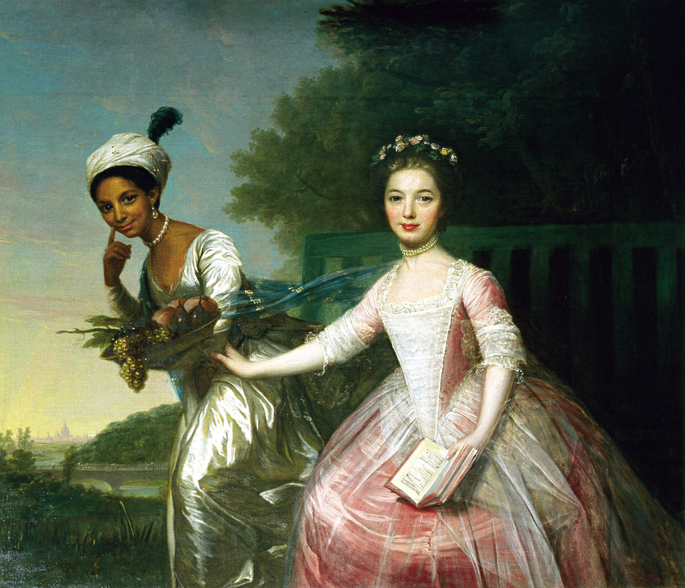 Lady Elizabeth Murray and Dido Belle
